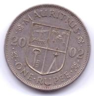 MAURITIUS 2002: 1 Rupee, KM 55 - Mauritius