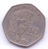 MAURITIUS 1997: 10 Rupees, KM 61 - Mauritius