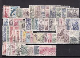 (K 6401) Tschechoslowakei, Kpl. Jahrgang 1955, Gest. - Czechoslovakia