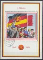 DDR  Block 29, Gestempelt, 20 Jahre DDR 1969 - DDR