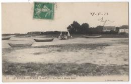 CPA 35 - LE VIVIER SUR MER (Ille Et Vilaine) - 11. Le Port à Marée Basse - France