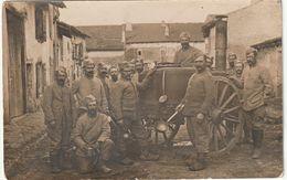 PHOTO CARTE - Cuisine Roulante Armée Française - Oorlog 1914-18