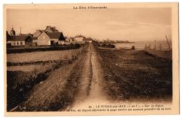 CPA 35 - LE VIVIER SUR MER (Ille Et Vilaine) - 22. Sur La Digue - France