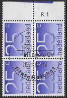 NVPH 1110 - 1976-2001 - Cijferserie Crouwel - Plaatnummer R1 - Periodo 1949 – 1980 (Juliana)