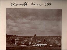 ! Altes Foto, Hartpappenphoto, 1898, Eberswalde , Format 16,8 X 15,7 Cm - Eberswalde