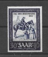 1952 MNH Saarland Mi 316 Postfris** - Ungebraucht