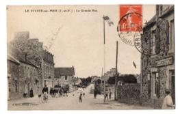 CPA 35 - LE VIVIER SUR MER (Ille Et Vilaine) - La Grande Rue - France
