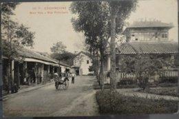 Indochina Indochine Vietnam Cochinchine Unused Vintage Postcard : Bien Hoa - Rue Principale - Vietnam