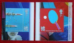 Sport Olympic Games  (Mi 2987-2988) 2010 POSTFRIS MNH ** ENGLAND GRANDE-BRETAGNE GB GREAT BRITAIN - Nuovi