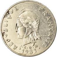 Monnaie, Nouvelle-Calédonie, 20 Francs, 1983, Paris, TB+, Nickel, KM:12 - New Caledonia