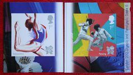 Sport Olympic Games (Mi 3142-3143) 2011 POSTFRIS MNH ** ENGLAND GRANDE-BRETAGNE GB GREAT BRITAIN - Nuovi