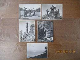LE CANIGOU 5 PHOTOS 11,5cm/8,5cm - Places