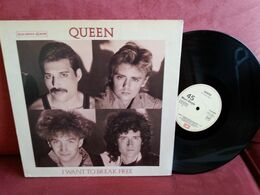Queen - Maxi 45t Vinyle  - I Want To Break Free - Espagne - 45 Rpm - Maxi-Single