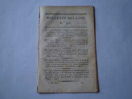 Napoléon:Service Dans Les églises Et Les Convois Funèbres;Terrains Place Bonaparte à Lyon;Canal Entre Escaut & Rhin - Wetten & Decreten
