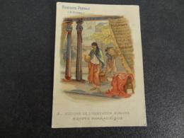 Chromo Pernot Histoire De L'habitation Humaine Egypte Pharaonique - Pernot