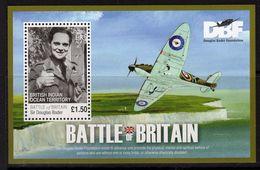 British Indian Ocean Territory BIOT 2010 Battle Of Britain Aces MS, MNH, SG 437 (A) - Territoire Britannique De L'Océan Indien