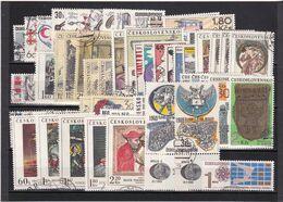 (K 6405) Tschechoslowakei, Kpl. Jahrgang 1969, Gest. - Czechoslovakia