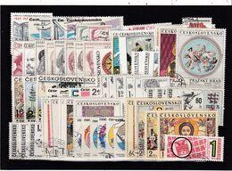 (K 6406) Tschechoslowakei, Kpl. Jahrgang 1970, Gest. - Czechoslovakia