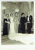 Photo. Mariage Du Roi Baudouin Et Reine Fabiola En 1960. Foto Verhassel. - Famous People