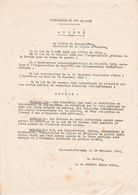 22 Nov.1940 VICHY - INTERDICTION D'écouter RADIO LONDRES - Propagande Antinationale - Documents Historiques