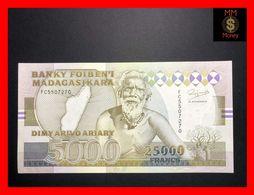 MADAGASCAR 25.000  25000  Francs 1993 P. 74 A  UNC- - Madagascar