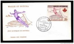Wallis Et Futuna  -  FDC  -  Avion  :  Yv  73  (o)    Gymnastique - FDC
