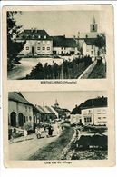 CPA-Carte Postale -France-Berthelming- Une Rue Du Village -1919?-VM19702 - Sarrebourg