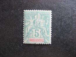 Indochine: TB N°6, Neuf  X . - Indochine (1889-1945)
