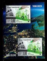Bosnia And Herzegovina (Cro.Adm.) 2016: Europa - Think Green ** MNH - Europa-CEPT