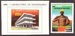 Angola 1982 -  The 20th Anniversary Of The Angola Laboratory Of Engineering  -  MLH - - Angola
