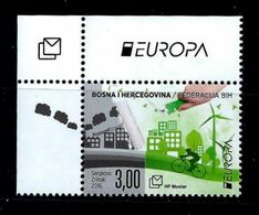 Bosnia And Herzegovina (Cro.Adm.) 2016: Europa - Think Green ** MNH - 2016