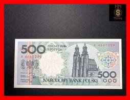 POLAND 500 Zlotych 1.3.1990  P. 172  UNC - Polonia