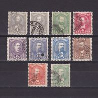 PARAGUAY 1892, Sc #32-41, Used - Paraguay