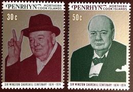 Penrhyn 1974 Churchill MNH - Penrhyn