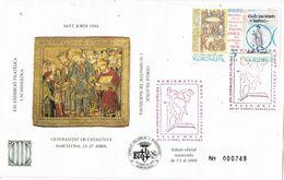 37161. Carta Exposicion BARCELONA 1994. SANT JORDI 947, Numerada Cercle - 1931-Hoy: 2ª República - ... Juan Carlos I