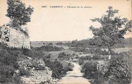 CARENCY. Chemin De La Station - France