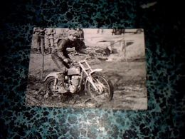 Sport Autour Du  Cross  Photo Originale Anonyme Moto/cross ,moto Année 70? Auteur Lieu Inconnu - Sport