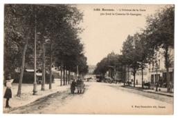 CPA 35 - RENNES (Ille Et Vilaine) - 1286. L'Avenue De La Gare (au Fond La Caserne St-Georges) - Rennes