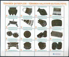 °°° TURKMENISTAN - TURMEN WOMEN - 2014 °°° - Turkmenistan