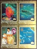 Penrhyn 1983 Commonwealth Day Marine Life Block MNH - Penrhyn