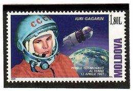 Moldova 2001 . Space Day (Y.Gagarin). 1v: 1.80 L.  Michel # 383 - Moldavia