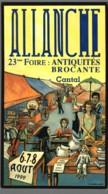 CPM 15 - Allanche - 23ème Foire Brocante Antiquités - 1999 - Allanche