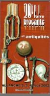CPM 15 - Allanche - 26ème Foire Brocante Et Antiquités - 2002 - Allanche