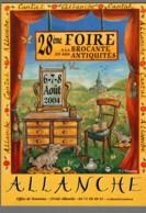 CPM 15 - Allanche - 28ème Foire à La Brocante Et Aux Antiquités - 2004 - Allanche