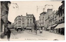 CPA 35 - RENNES (Ille Et Vilaine) - 82. Place Saint-Michel - Rennes