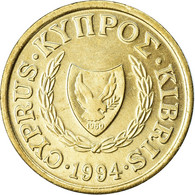 Monnaie, Chypre, Cent, 1994, SUP, Nickel-brass, KM:53.3 - Cyprus