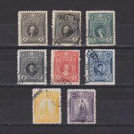 PERU 1924, Sc #242-248, Part Set, NG/Used - Peru