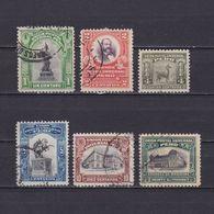 PERU 1907, Sc #168-173, Part Set, Used - Peru