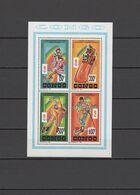 Congo 1992 Olympic Games Albertville Sheetlet MNH - Winter 1992: Albertville