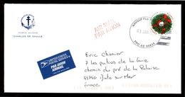 NAVSUP FLC BAHRAIN FPO AE 09834 Enveloppe Cover Pour La France Du 03 01 2016  Base Navale USA US Navy Bahrein - Marcophilie